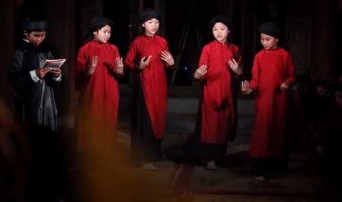 Teenage voices give new life to Vietnam's traditional Xoan singing heritage