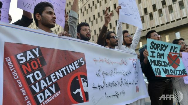 valentines day gets chilly reception in parts of asia