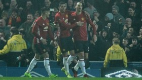 Ibrahimovic sends Man Utd through to Chelsea FA Cup clash