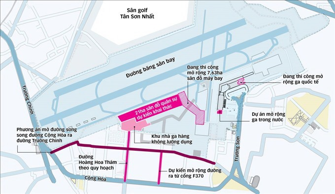 City airport granted expansion land