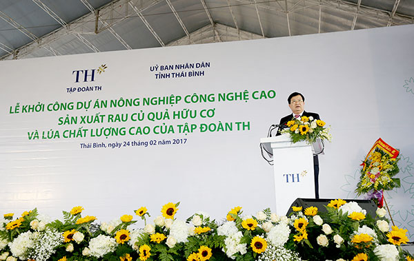 TH Group kicks off construction of new major hi tech agricultural project Investing