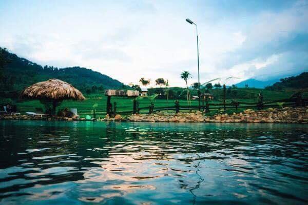 stunning tram tau hot spring in yen bai
