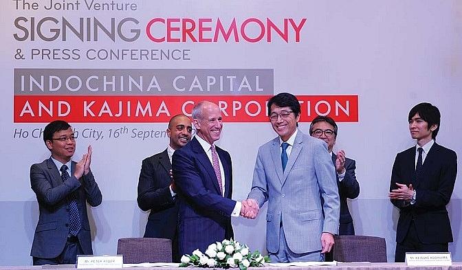 indochina capital teams up with kajima corporation