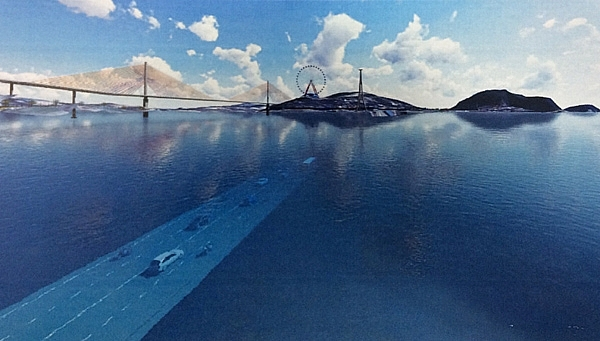 large scale undersea tunnel to be constructed next year