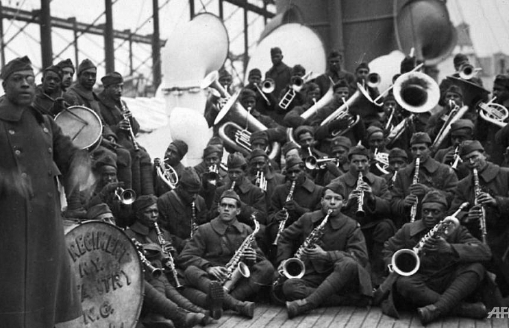 100 years ago today jazz broke loose in europe