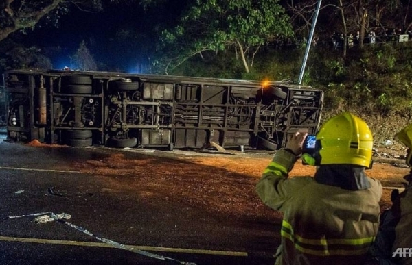 hong kong bus driver may face more serious charges over deadly crash