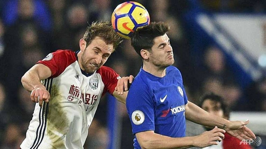 hazard double eases pressure on chelseas conte