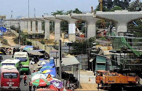 govt guarantees capital for hcm city metro project