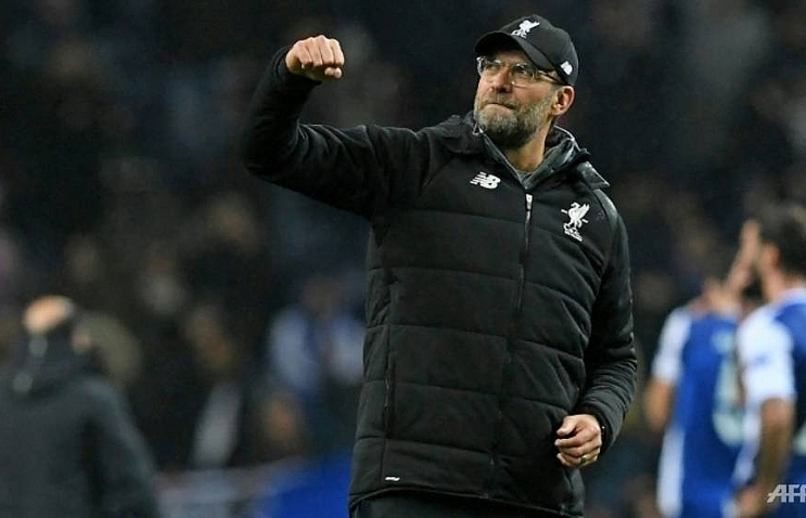 klopp hails perfect liverpool champions league display