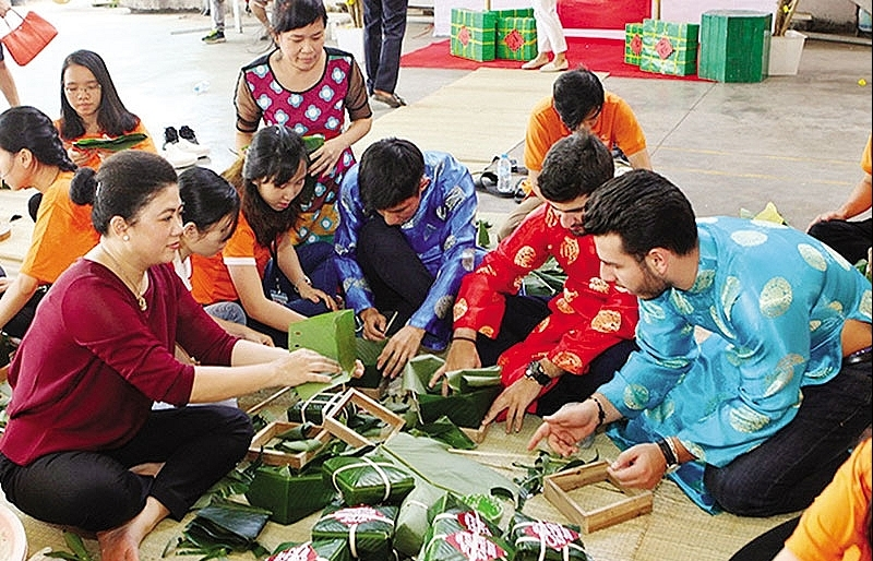 tet a festival for locals and foreigners