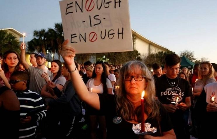 students parents demand gun curbs after florida slaughter