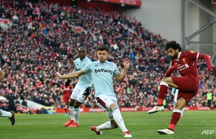 salah takes liverpool to second west brom cut adrift