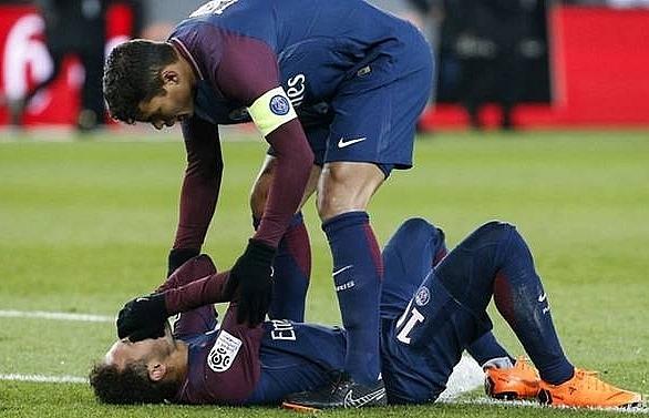 neymar injury mars psg victory over marseille