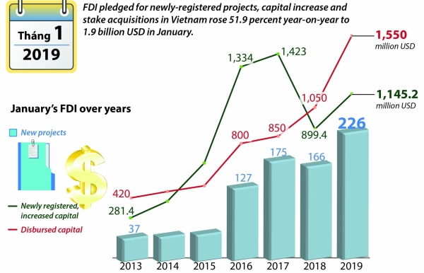 fdi up 519pc from jan 2018