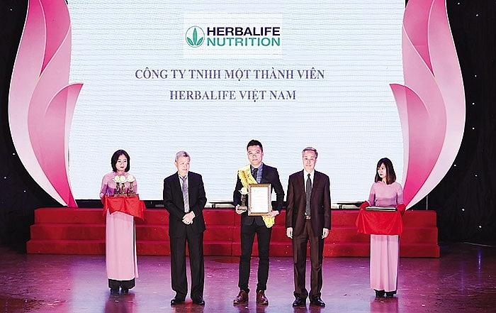 herbalife vietnam wins golden product award