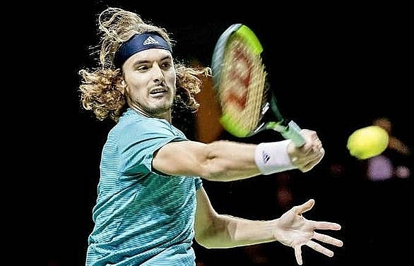 tsitsipas loses to himself in rotterdam exit