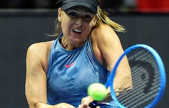 injured sharapova out of indian wells organisers