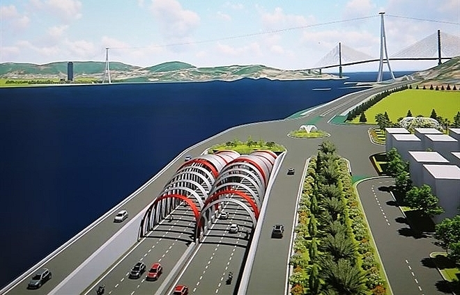 quang ninh plans to build undersea tunnel at cua luc bay