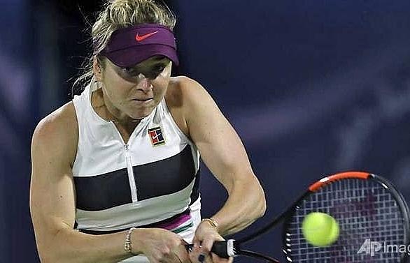 hat trick chasing svitolina joins halep kvitova in dubai quarter finals
