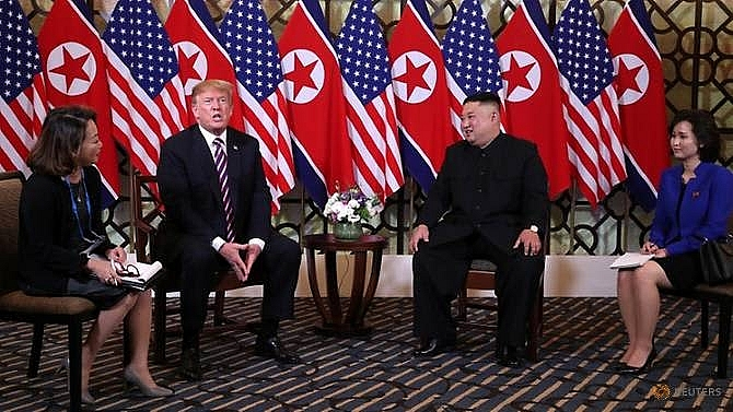 kim jong un donald trump meet for second us north korea summit