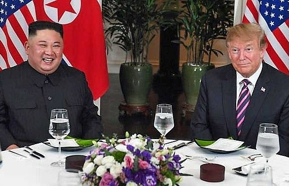 trump kim optimistic over nuclear talks