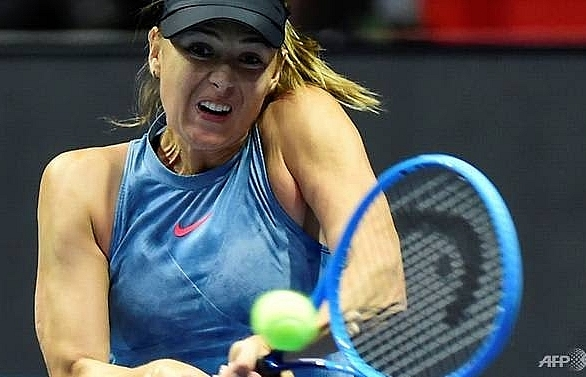 injured sharapova withdraws from miami open