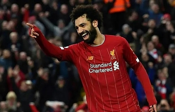 african players in europe salah double moves liverpool closer to title