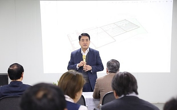 hanois leader urges completion of wastewater project