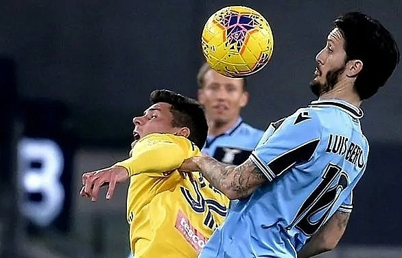 lazio miss chance to go second with verona stalemate