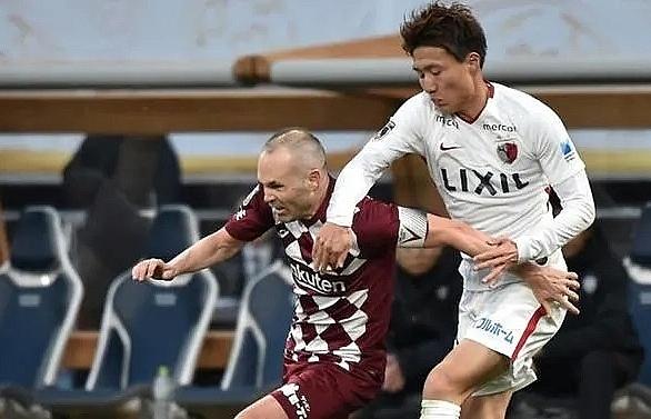 iniesta debut as virus disrupts asian champions league kick off