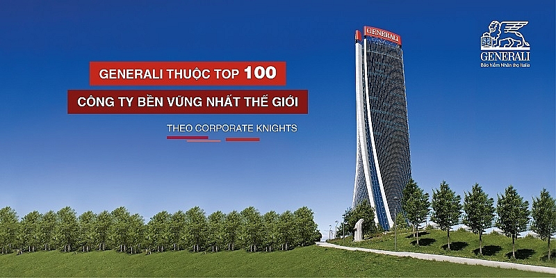 generali among top 100 sustainable companies worldwide