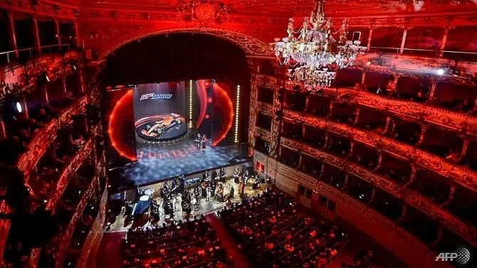 ferrari unveil sf1000 car for coming season