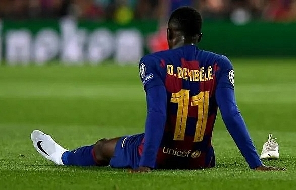 barcas dembele out of euro 2020 after hamstring surgery