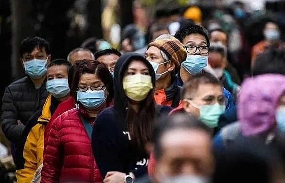 imf chief sees mild virus impact on global economy