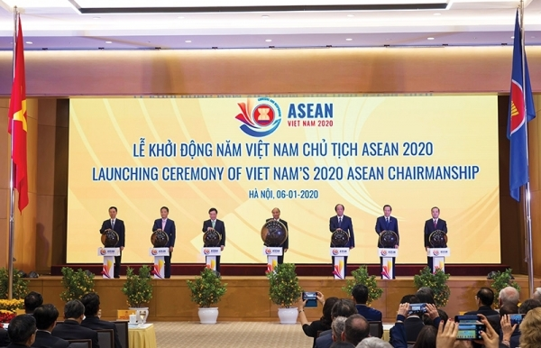 promising a cohesive and responsive asean