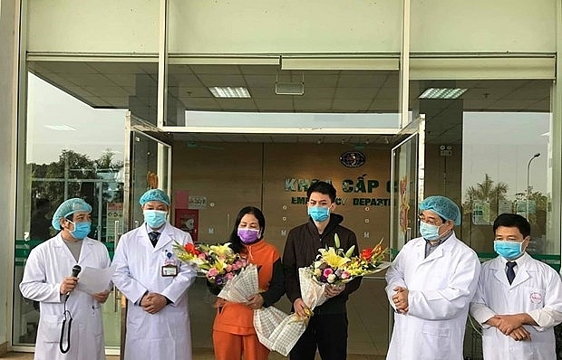 two more covid 19 patients discharged from hanoi hospital