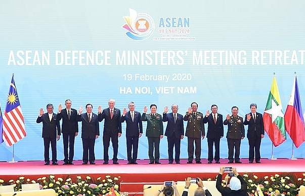 asean defence ministers meeting retreat opens in hanoi