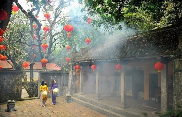 thien ton sacred pagoda in ancient capital
