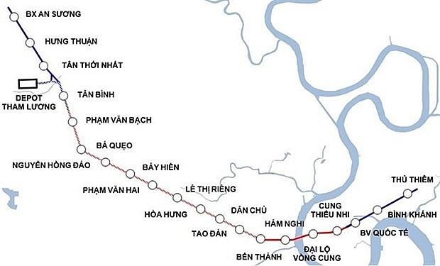 work on hcm citys metro line no2 to begin next year