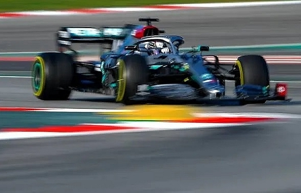 bottas puts mercedes on top but hamilton says still not perfect