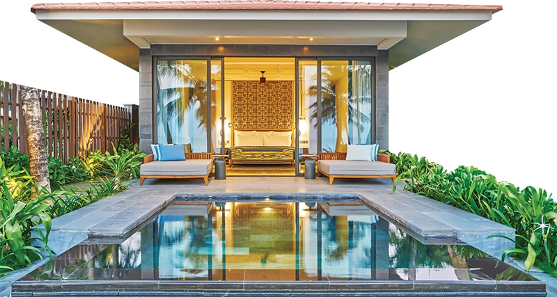 private paradise at intercontinental phu quoc long beach