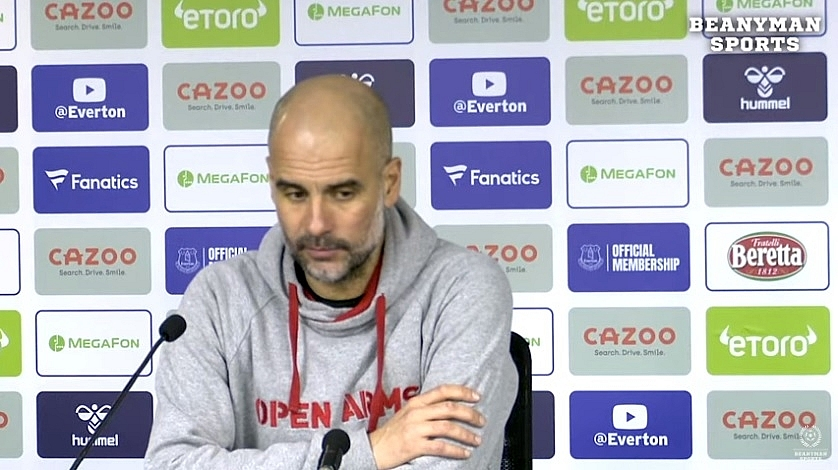 guardiola inspires man city masterclass liverpool face everton test
