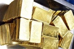 gold slightly drops