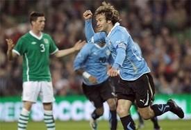 uruguay edge ireland in five goal thriller