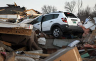 At least 11 dead as tornadoes strike US midwest