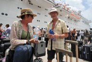 cruise passengers were ready to abandon ship captain