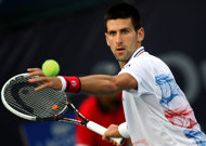 World No. 1 Novak Djokovic, pictured on March 2, and fourth-ranked Caroline Wozniacki will defend their titles at the $11 million Indian Wells ATP and WTA hardcourt event that begins on Wednesday.