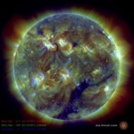 earth braces for biggest space storm in five years