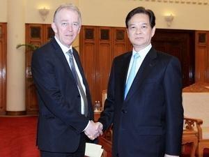 vietnam denmark tighten green growth ties