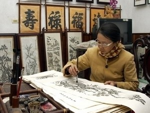 folk woodcut painting craft to seek unesco recognition